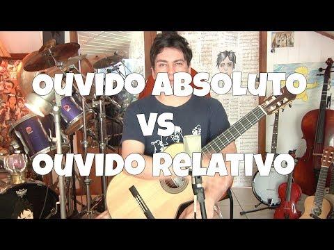 Ouvido Absoluto VS Ouvido Relativo por Fabio Lima