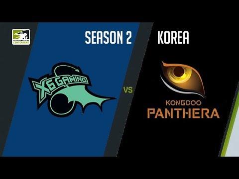 X6-Gaming vs KongDoo Panthera vod