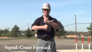 Hand Signals: Crane Reverse and Forward (Demonstration)