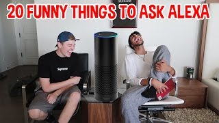 20 FUNNY Things To Ask Alexa