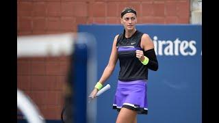 Denisa Allertova vs. Petra Kvitova | US Open 2019 R1 Highlights