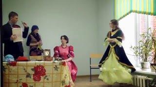 Отрывок из пьесы «Урок дочкам» по И.А. Крылову (Ученики 9 и 11 классов)