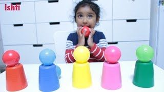 Toddler Fun at Hidden Colour Ball Game by Ishfi & Daddy