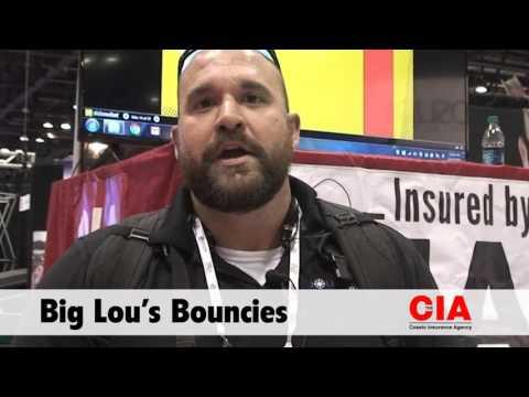 Bounce House Insurance Testimonial from Big Lou's Bouncies