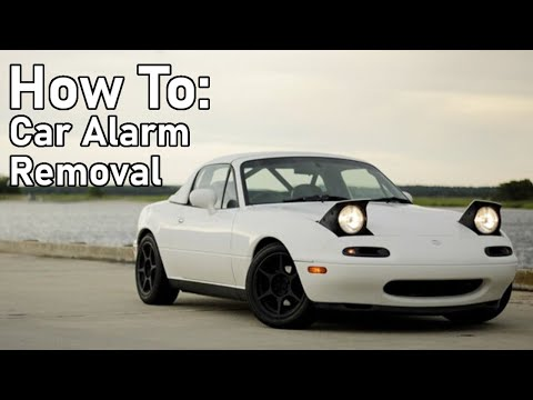 How To Remove a Car Alarm