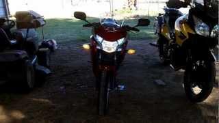 2012 CBR 250R Mods Video Number 1