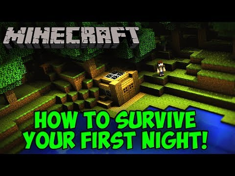 How To Survive Your First Night || Creating House || By SmarTBoY