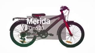 Детский велосипед Merida Dino 20 2016. Обзор