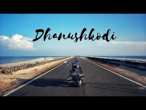The New Road At Dhanushkodi   Blue Sea on Both Sides
