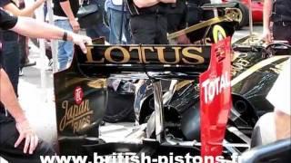 Goodwood Festival of Speed 2011 - moteurs de Formule 1 Goodwood FOS