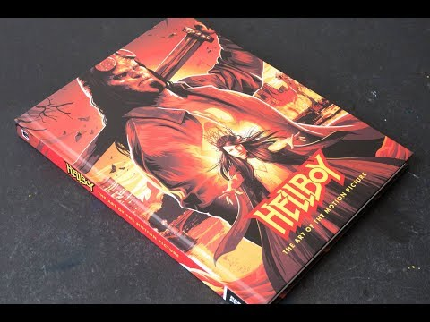 (book Flip) Hellboy: The Art Of The Motion Picture