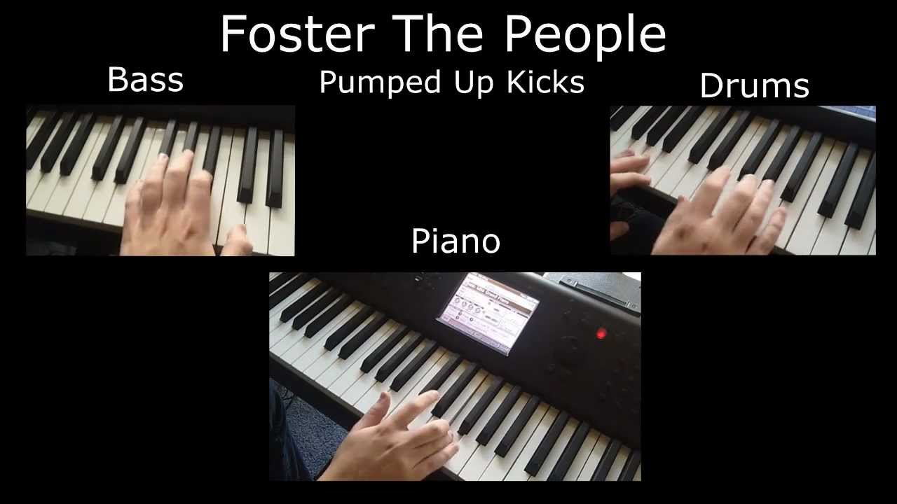 how to play pumped up kicks on piano