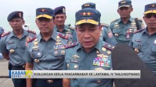 TV KEPRI BERITA KUNKER PANGARMABAR DI LANTAMAL4 TANUNGPINANG