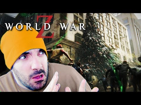 1000+ ZOMBIES VS TOWN ⭐️ World War Z | Gameplay Español