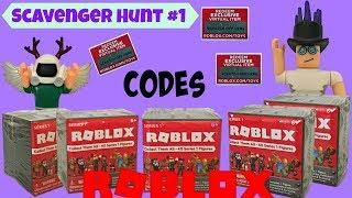 Roblox Codes Scavenger Hunt #1 / Unboxing Surprise Blind Bag Boxes #RobloxToys