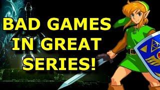 TOP 10 Bad Games In Good Series!