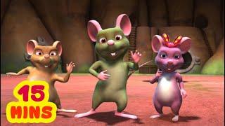 మూడు ప్రసిద్ధ ఎలుకల కథ - 3 Famous Rats | Telugu Moral Stories for Kids | Infobells