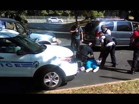 'Don't shoot!' wife tells Charlotte police in video