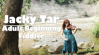 Traveling Fiddle in the Metroparks ~ Jacky Tar ~ 1 year 1 month learning the violin