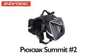 EzyDog рюкзак SUMMIT #1(http://ezydog-russia.ru/ryukzak-dlya-sobak-summit Рюкзак SUMMIT сделан из прочного, водонепроницаемого материала, снабжен удобной..., 2013-07-24T07:14:02.000Z)
