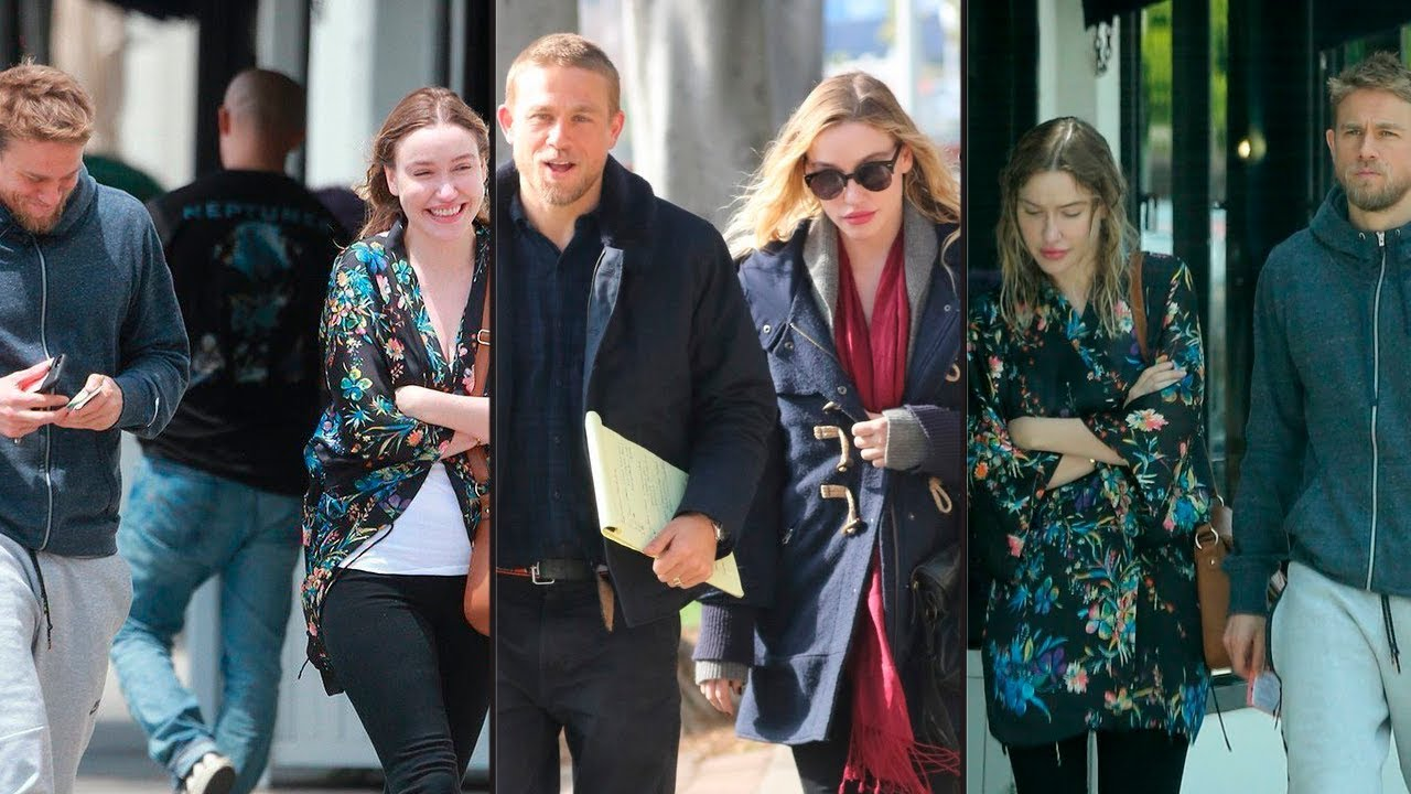 Apologise, but Charlie hunnam and his wife reserve