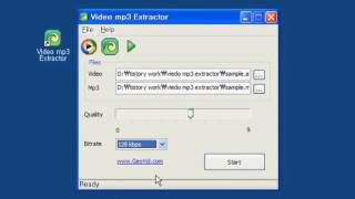 avi 파일 mp3로 변환 Video mp3 Extractor
