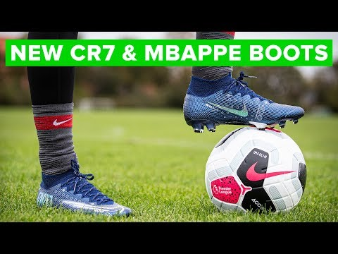 new-cr7-&-mbappÉ-nike-boots-|-play-test
