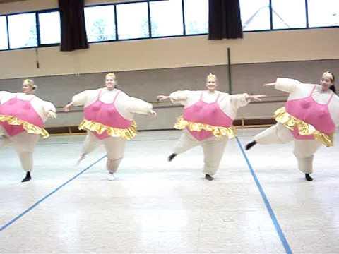 dicke ballerinas xd - youtube