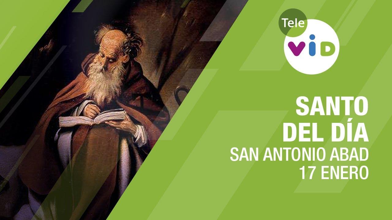 17 de Enero día de San Antonio Abad, Santo del día - Tele VID