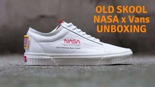 Vans x NASA Old Skool Space Voyager White Unboxing