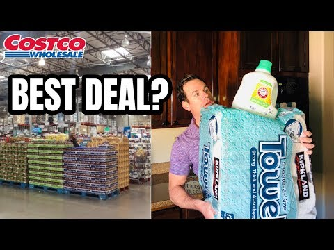 Top 3 Items To Buy At Costco - Save Money With These Kirkland Brand Products