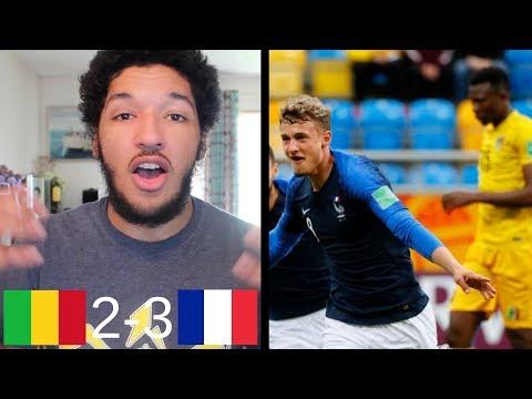MALI U20 VS FRANCE U20 REACTION | MALI ADVANCE IN GROUP E BY 1 POINT! (FIFA U-20 World Cup)
