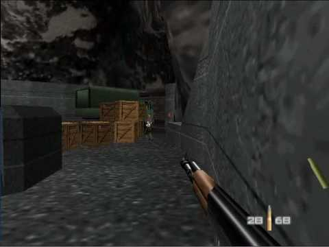 007 Goldeneye For The Nintendo 64: The First Mission