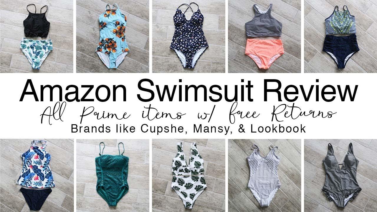575ed75781 AMAZON SWIMSUIT REVIEW | 10 Swimsuits under $30 - YouTube