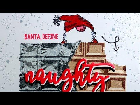 WHITE CHRISTMAS 2018 - DAY 13 - Define Naughty