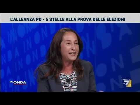 Paola Taverna a In Onda - La7 1/9/2020 (INTEGRALE)
