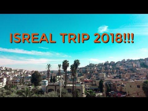ISRAEL TRIP 2018!! TRAVEL VLOG!!
