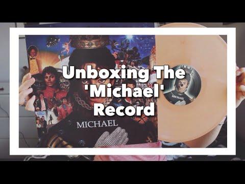 Michael Jackson 'Michael' Vinyl Unboxing