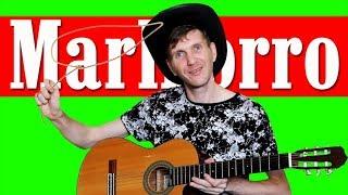 Крутая Ковбойская мелодия на Гитаре (Разбор)