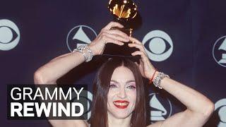 Watch Madonna Win Best Pop Album For 'Ray Of Light' In 1999 | GRAMMY Rewind