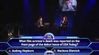Who wants to be a Millionaire - US 10th Anniversary Episode 11