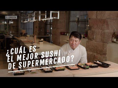 EL COMIDISTA   ¿Cuál es el MEJOR SUSHI de supermercado?   Cata a ciegas