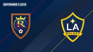 HIGHLIGHTS: Real Salt Lake vs. LA Galaxy | September 1, 2018
