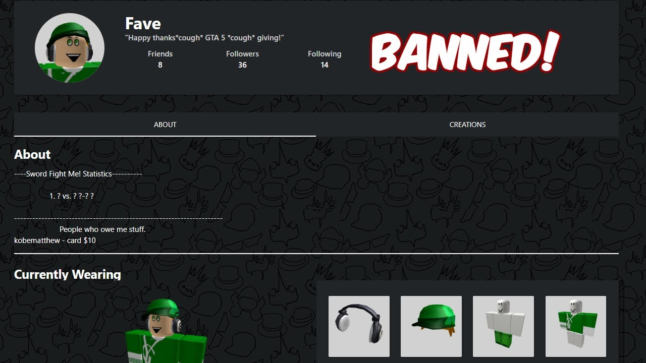 So How Do You View Banned Accounts Roblox Forum How To See Banned Roblox Accounts Youtube