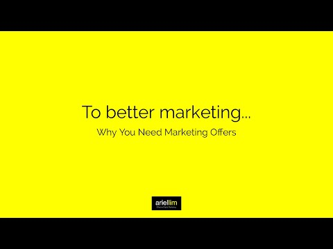 1MMV 029 - Why You Need Marketing Offers