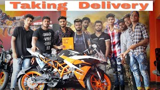 2018 KTM RC200 new edition taking delivery black colour KTM chowk showroom