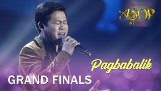 Marcelito Pomoy performs 'Pagbabalik' | ASOP 7 Grand Finals Night