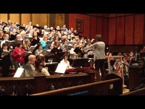 BPChorus - War and Peace - inside the rehearsal