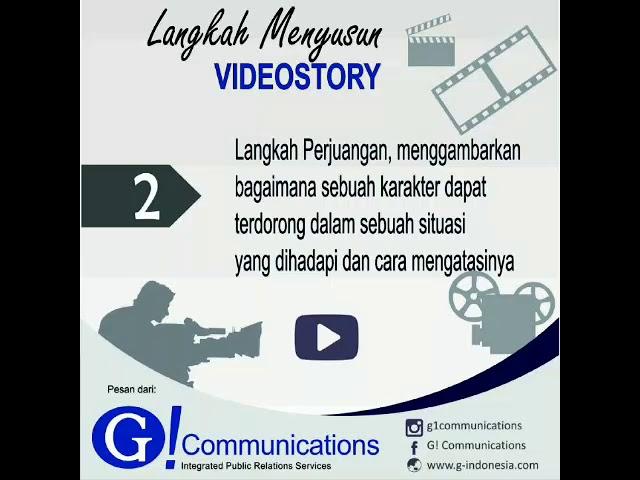 Langkah Menyusun Videostory