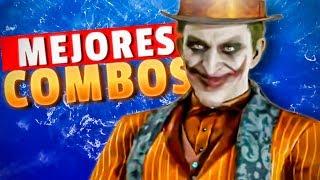 🤡Los MEJORES COMBOS del JOKER (IMPERDIBLE) - Mortal Kombat 11